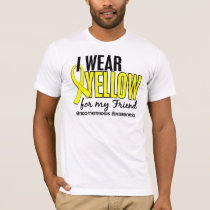 I Wear Yellow For My Friend 10 Endometriosis T-Shirt
