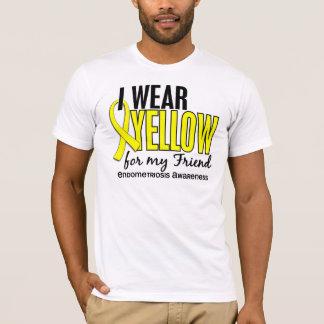 I Wear Yellow For My Friend 10 Endometriosis T-Shirt