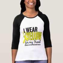 I Wear Yellow For My Friend 10 Sarcoma T-Shirt