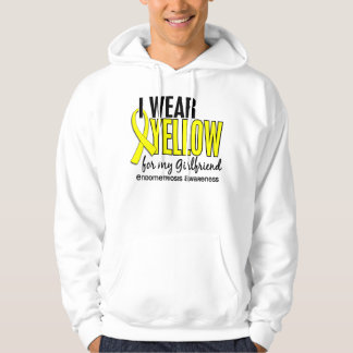 I Wear Yellow For My Girlfriend 10 Endometriosis Hooded Sweatshirt