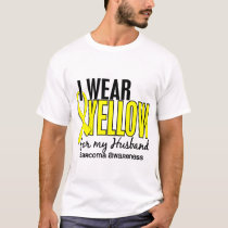 I Wear Yellow For My Husband 10 Sarcoma T-Shirt
