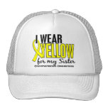 I Wear Yellow For My Sister 10 Endometriosis Mesh Hat