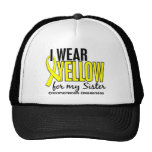 I Wear Yellow For My Sister 10 Endometriosis Trucker Hat