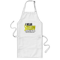 I Wear Yellow For My Sister-In-Law 10 Sarcoma Long Apron