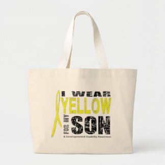 I wear yellow for my son bag