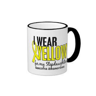 I Wear Yellow For My Stepdaughter 10 Sarcoma Coffee Mugs