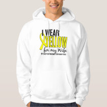 I Wear Yellow For My Wife 10 Endometriosis Hoodie