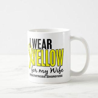 I Wear Yellow For My Wife 10 Endometriosis Mugs