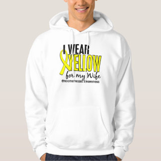 I Wear Yellow For My Wife 10 Endometriosis Pullover
