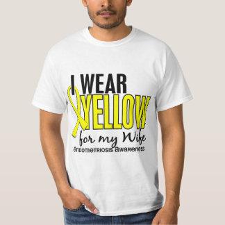 I Wear Yellow For My Wife 10 Endometriosis T-Shirt