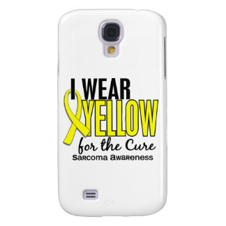 I Wear Yellow For The Cure 10 Sarcoma Samsung Galaxy S4 Case