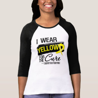 I Wear Yellow For The Cure Endometriosis Tee Shirt