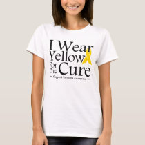I Wear Yellow For The Cure T-Shirt