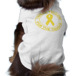 I Wear Yellow For The Troops Pet Clothes