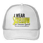 I Wear Yellow Someone Special 10 Testicular Cancer Mesh Hat