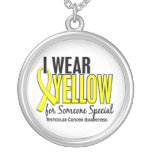 I Wear Yellow Someone Special 10 Testicular Cancer Pendant