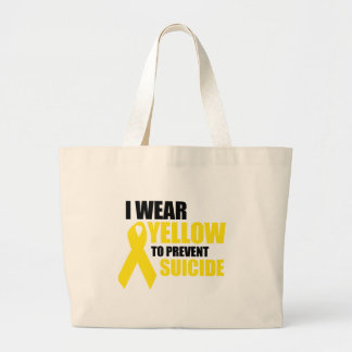 I wear yellow to prevent suicide bag