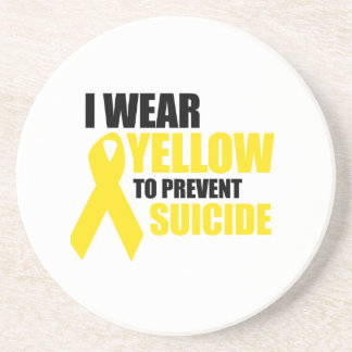 I wear yellow to prevent suicide coasters