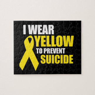 I wear yellow to prevent suicide - puzzle
