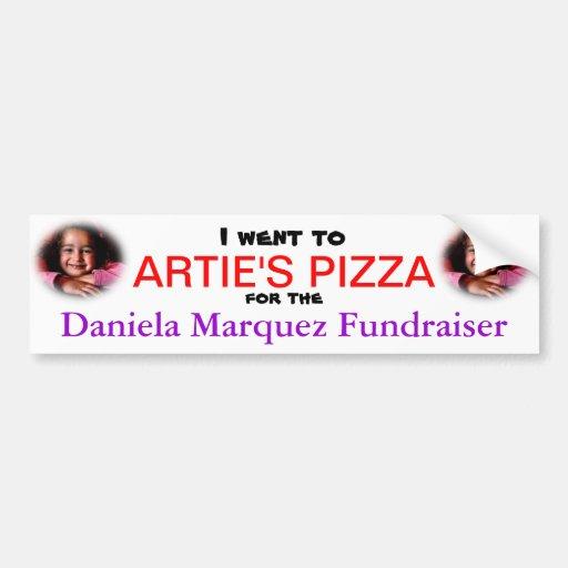 I went to Artie's Bumper Sticker