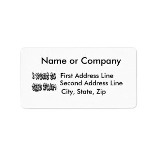 I went to the fair! Fair celebration slogan Personalized Address Labels