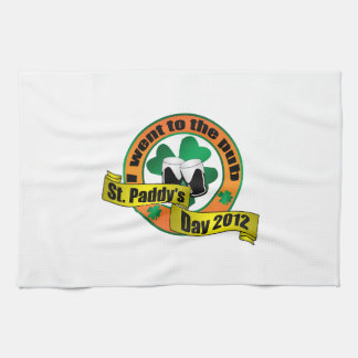I went to the pub Saint paddy's day 2012 Kitchen Towel