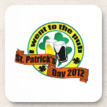 I went to the pub St. Patrick,s day 2012 Drink Coasters