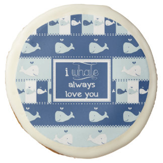 I Whale Always Love You Cookies