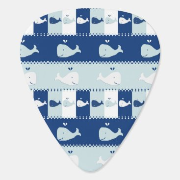 Beach Themed I Whale Always Love You Guitar Pick