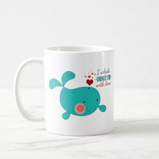 I Whale Shower You With Love Mug
