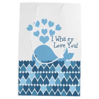 I whaley love you medium gift bag