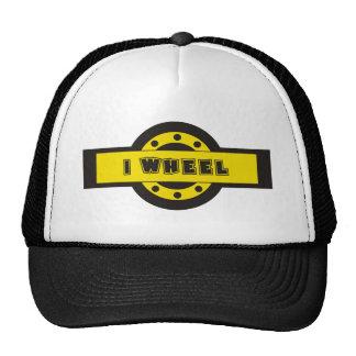I wheel trucker hat