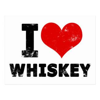 I whisky del corazón postales