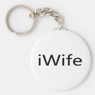 i Wife Keychain