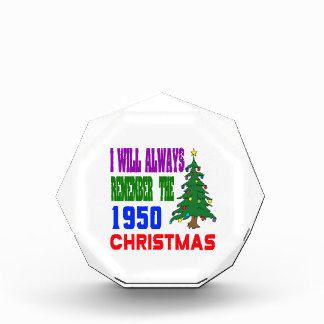 I will always remember the 1950 christmas award