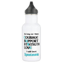 I will beat Dysautonomia Stainless Steel Water Bottle