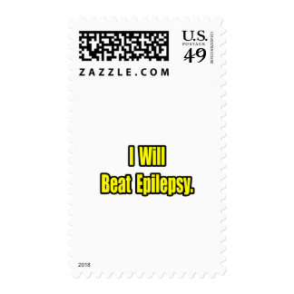 I Will Beat Epilepsy Stamp