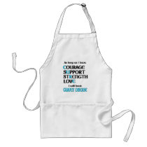 I will beat Graves' Adult Apron