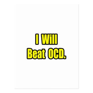I Will Beat OCD Postcard