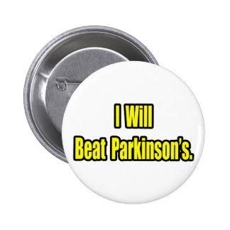 I Will Beat Parkinson's Pinback Button