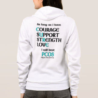 I will beat PCOS Hoodie