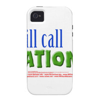 I will call Nations - Isaiah 55:5 iPhone 4 Cases