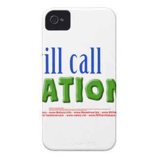 I will call Nations - Isaiah 55:5 iPhone 4 Cover