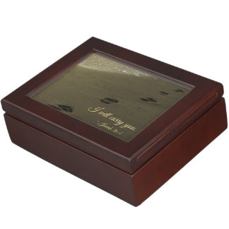 I Will Carry You Sand Footprints Memory Box