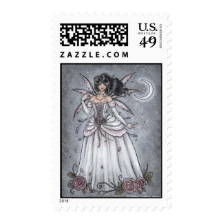 I Will Come To You Fairy Postage Stamp