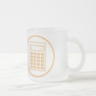 I will crush you with my math frosted glass coffee mug