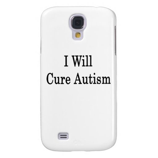 I Will Cure Autism Galaxy S4 Covers