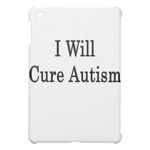 I Will Cure Autism iPad Mini Case