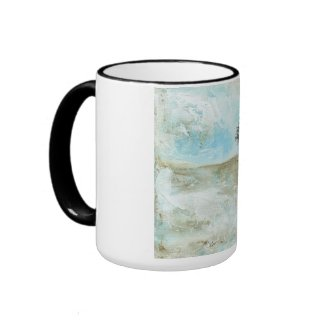 I Will Endure Large Coffee Tea Mug Original Art mug