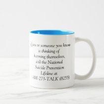 I Will Fight Suicide Awareness Coffee Mugs